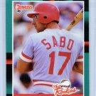 1988 Donruss The Rookies Chris Sabo-4, Card #30
