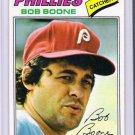 1977 Topps Bob Boone, Card #545