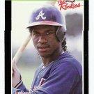 1989 Donruss The Rookies Geronimo Berroa, Card #19