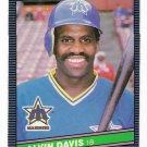 1986 Donruss Alvin Davis, Card #69