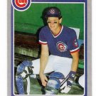 1985 Fleer Jody Davis Rookie, Card #54