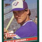 1986 Donruss The Rookies Kelly Gruber, Card #16