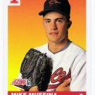 1991 Score Mike Mussina Rookie, Card #383