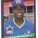 1986 Donruss Harold Reynolds, Card #484