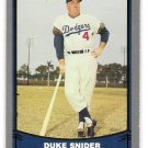1988 Baseball Legends Duke Snider, Card #55