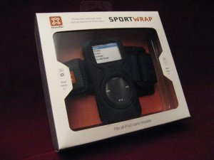 XtremeMac SPORT WRAP iPod Nano BLACK NEW