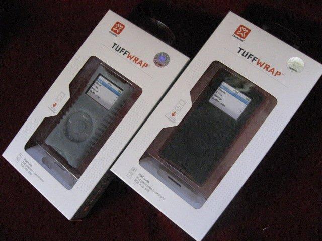 Two XtremeMac TUFFWRAP iPod NANO Case Cover Skin
