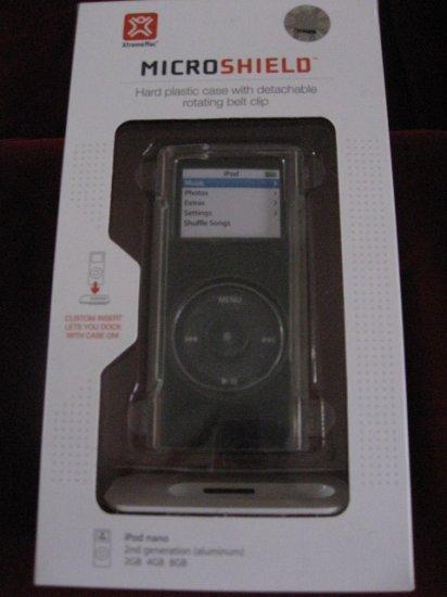 XtremeMac MICROSHIELD CLEAR HARD PLASTIC CASE iPod NANO NEW