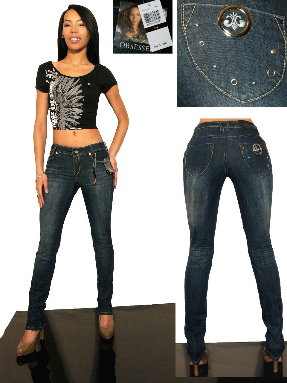 Skinny jeans by beyonce house of dereon clothing House jeansy