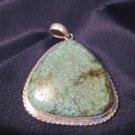 925 Silver Tibetan Turquoise pendant Nepal Jewelry A