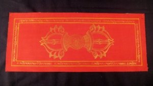 Gold Vajra Dorje Thangka Thanka Tanka painting Nepal Himalayan Art