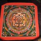 Gold Kalachakra Thangka Thanka Painting Nepal A