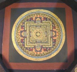 Viswa Vajra Thangka Thanka Painting Nepal Art A