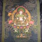 24 K Gold Bodhisattva Vajrasatva Thangka Thanka Painting Nepal Himalayan art