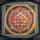Mixed Gold Kalachakra Thangka Thanka Painting Nepal Himalayan Art A2