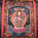 24 K Gold  Newari Padmapani Lokeshvara Thangka Thanka Tanka paintng Nepal  art