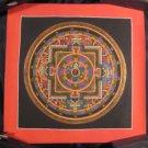 24 K gold Conch Shell Thangka Thanka Mandala Painting Nepal Himalayan Art