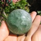 Natural Fluorite Crystal Ball Mineral Stone healing Art A3