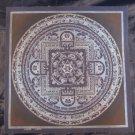 24 K Gold Lakpa Lama Signed Ohm Silver Thangka Thanka Painting Himalayan Art  A5
