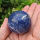 Blue Afghanistan Lapis Lazul Lazuli Crystal stone mineral Ball  A11