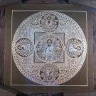 Pure Silver Shakyamuni Buddha Thangka Thanka Painting Nepal Himalayan Art A