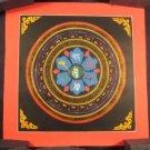 Small 24 K gold Gold Ohm Mandala Thangka Thanka painting Nepal Himalayan art A3
