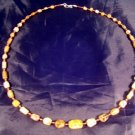 925 Silver Roman Glass Bead Necklace Agate stone Afghanistan jewelry 1500 yrs