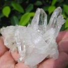 Natural Quartz stone mineral rock crystal specimen Afghanistan A16