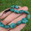Natural Tibetan Turquoise stone Bracelet Nepal jewelry art A32
