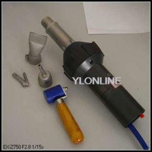 1600W Plastic Welding Tool Hot Air Plastic Welder