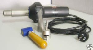 Hot Air Gun 230V 1600W CE Approval W/ Free 4mm Speed Welding Tip