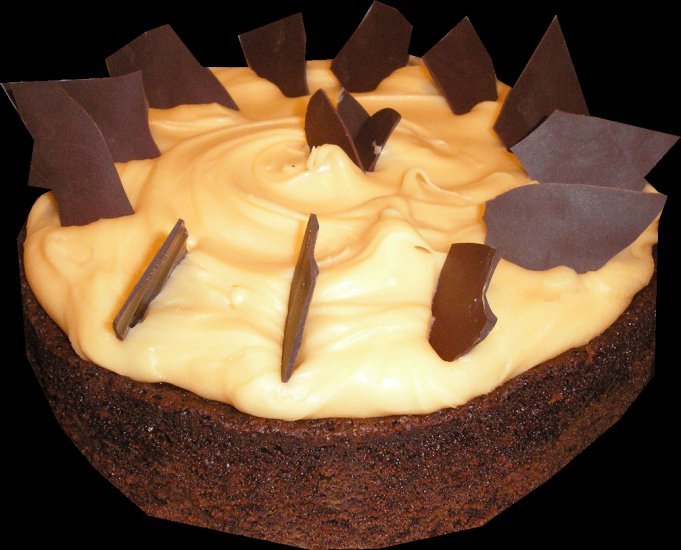 "Jaffa Mud Cake 10"""