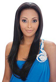 """24"""" long Full lace wig Indian Remy humanhair in stock"""