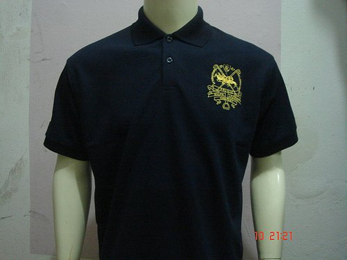 Navy Blue Ralph Lauren Polo shirt with big pony-T46