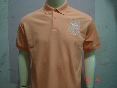 Peach Ralph Lauren Polo shirt with big pony-T45
