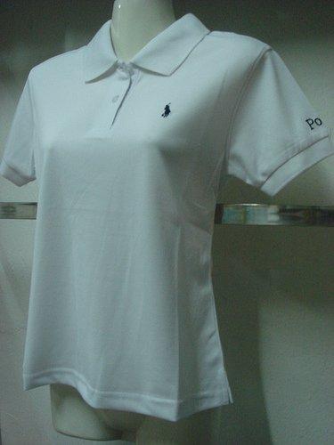 Womens white Ralph Lauren Polo shirt -T29