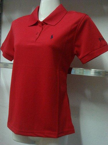 Womens Red Ralph Lauren Polo shirt -T22