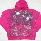 Mens Pink Affliction Hoody- H17