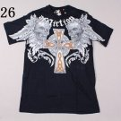 Mens Affliction Graphic T-Shirts- T64