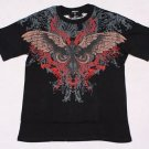 Mens Affliction Graphic T-Shirts- T80