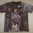 Mens Affliction Graphic T-Shirts- T109