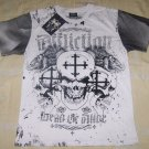 Mens Affliction Graphic T-Shirts- T119