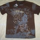 Mens Affliction Graphic T-Shirts- T126