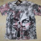 Mens Affliction Graphic T-Shirts- T130
