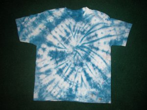 Navy spiral Tye-dye
