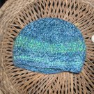 fuzzy textured rasta cap