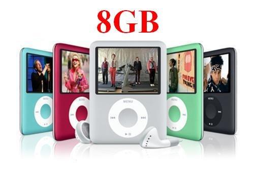8 GB Nano Style MP3 Player