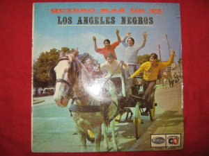 LP Los Angeles Negros Quiero mas de ti odeon Peru different label