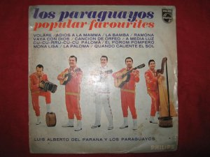 LP Los paraguayos Luis Alberto del Parana philips Peru