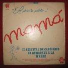 LP homenaje dia de la madre musica criolla Peru